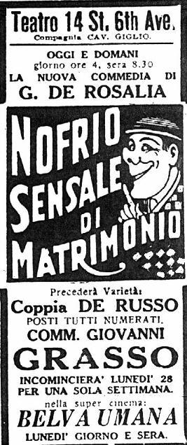 Il Progresso Italo-Americano, 1925